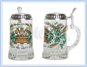 Hops & Malt Beer Stein